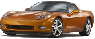 Présentation de la Chevrolet Corvette de 2008..